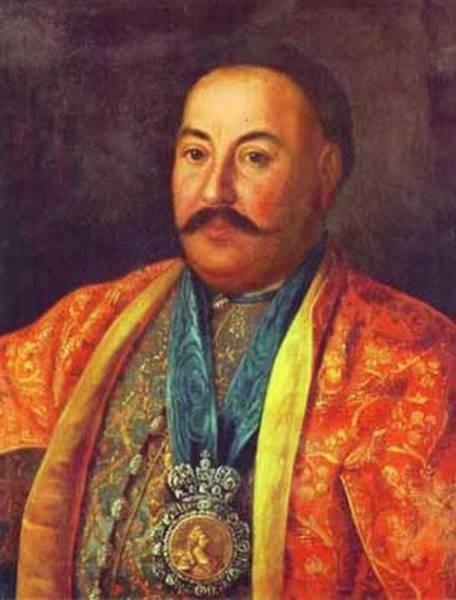 Portrait of f krasnoschiokov 1761 xx the russian museum st petersburg russia